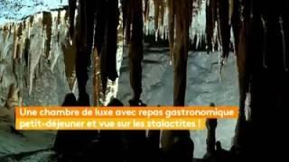 Grotte de la Cocalière  Nuit insolite