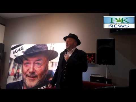 George Galloway on the right of Kashmiri self-determination