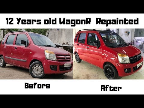 Car Repainting Process Explained In HINDI | Carzspa | INDIA | Pune
