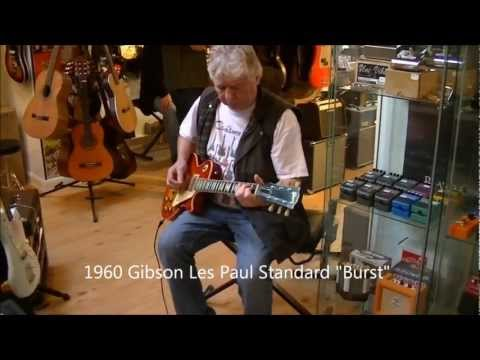Mick Ralphs from Mott the Hoople & Bad Company plays 1960 Gibson Les Paul Standard
