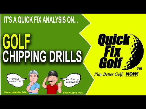Golf Drills for Chipping