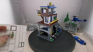 Playtive clippys (Lidl) Forrest police brick set build & review