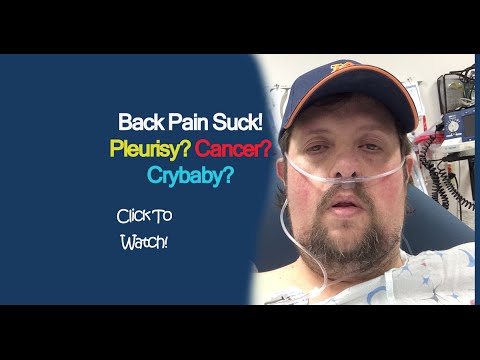 Pain Symptoms Pleurisy Lung Cancer Or Muscle Strain
