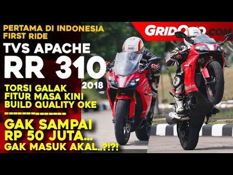 TVS Apache RR 310 | First Ride Review | GridOto