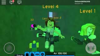 A NOOB JOGANDO ROBLOX-Roblox Flood Escape 2