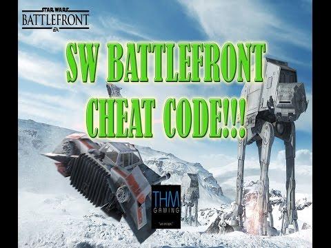 Star Wars Battlefront Cheat Code