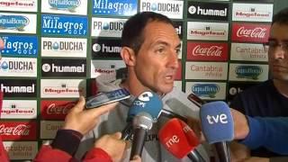 Rueda de prensa de Pedro Munitis en previa Racing de Santander - Cádiz (11-06-16)