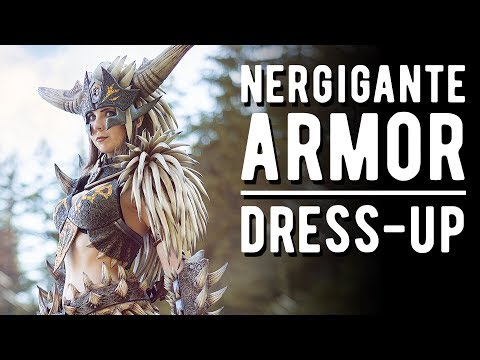 Nergigante Cosplay Transformation - Monster Hunter World