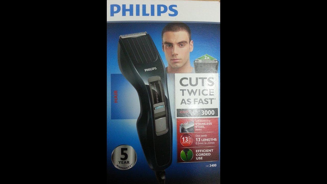 Philips Hc3400 15 Sac Kesme Makinesi Incelemesi Youtube