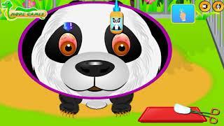 Доктор Ветеринар для ДИКИХ Животных Ухаживаем и Лечим милых Зверят Познавательное видео для детей