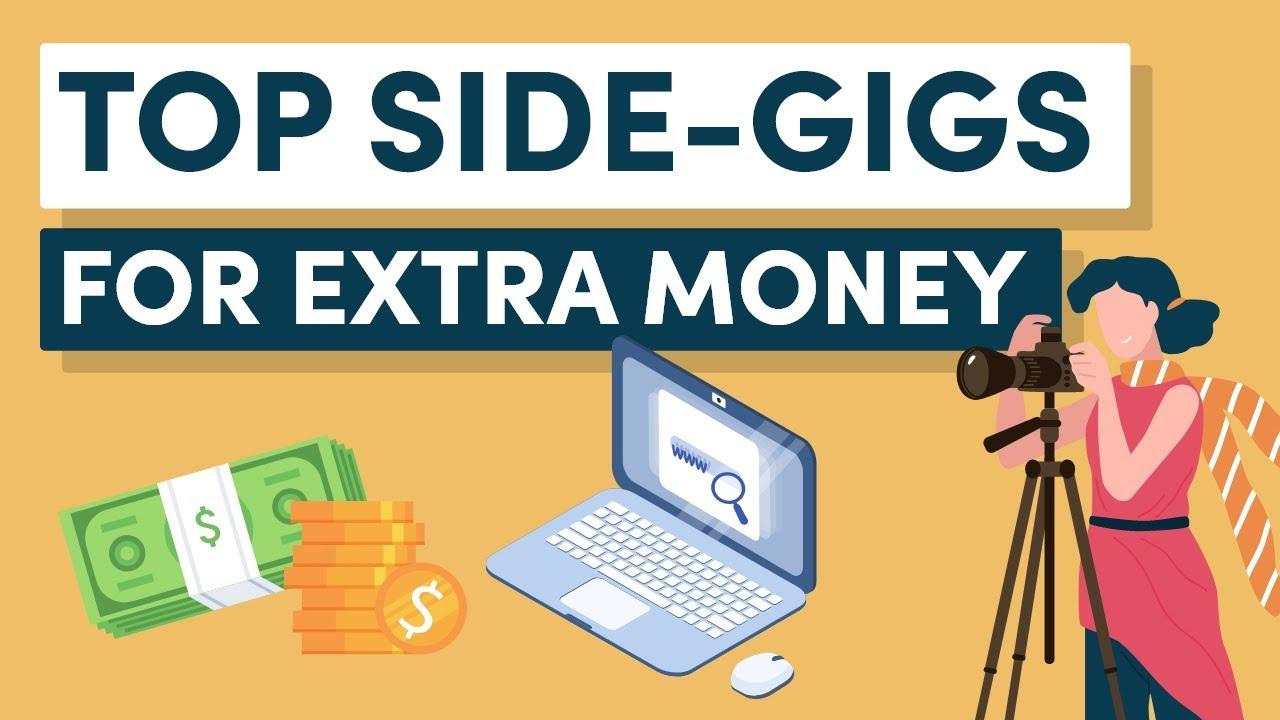 10 Legit Online Side Gigs To Make Extra Money Youtube