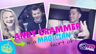 ANDY GRAMMER is a Prize-Winning Magician || Q MUSIC SCENE