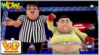 Vir Çocuklar | Gintu ki boks | İçin Robot Çocuk | Türkçe Çizgi film Serisi| Wow Çocuklar Animasyon
