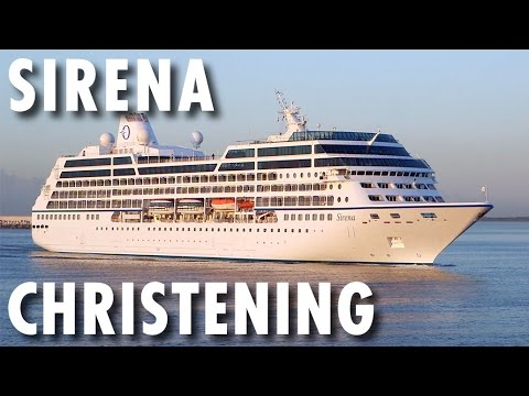 Sirena Preview  BehindtheScenes Christening  Oceania