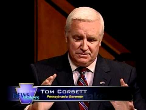 One-on-one with Governor Tom Corbett [Pennsylvania Newsmakers]