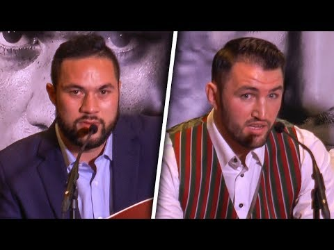 Joseph Parker vs Hughie Fury OFFICIAL PRESS CONFERENCE | Hennessy Sports & Duco Promotions