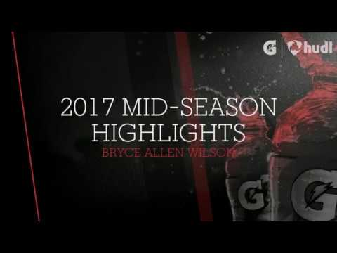 2017 Mid-Season Highlights - Bryce Allen Wilson - West Hancock Junior Fullback - Class of 2019