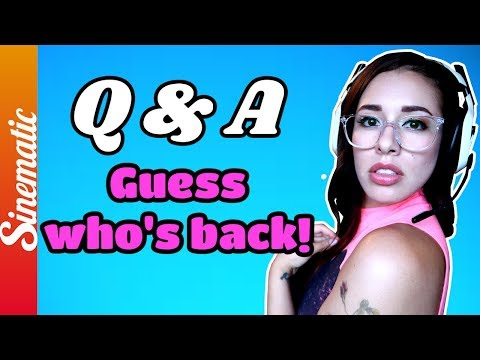Q&A!! PS4 isnt working so come chat w/the SINNERS because I missed you on Vacation!!