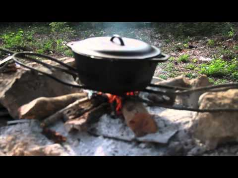 Cooking Peanut Porridge At My Amazing Outdoor Kitchen in Jamaica