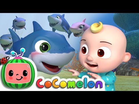 Ba Shark  ABCkidTV Nursery Rhymes & Kids Songs