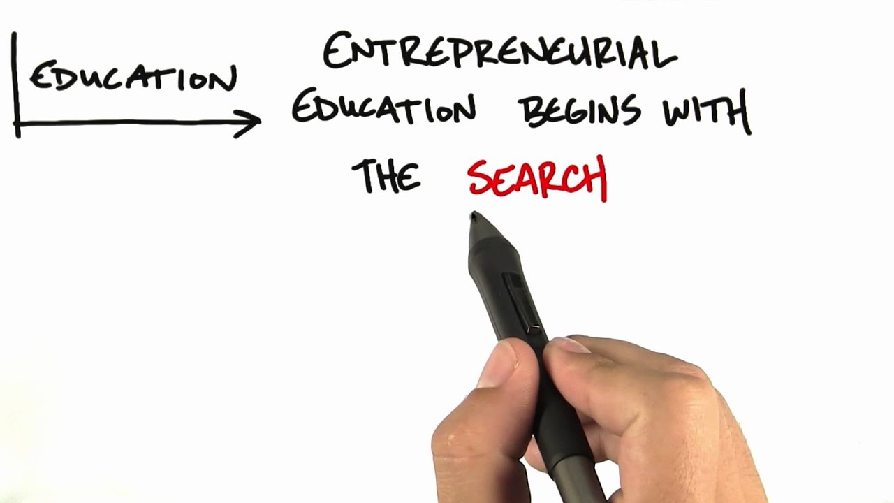 Entrepreneurial Education - How to Build a Startup