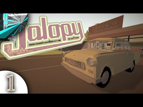 Let's Play Jalopy (part 1 - The Journey Begins)