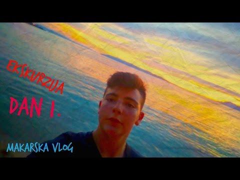 Makarska Ekskurzija Dan1. Vlog #11
