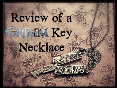 Review of a Grimm Key Necklace Replica