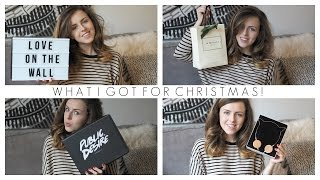 What I Got For Christmas! | Love On The Wall