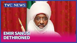 Muhammadu Sanusi II speaks after dethronement as Emir of Kano