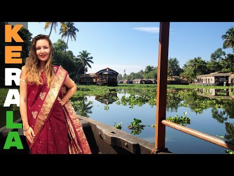 THE MOST BEAUTIFUL PLACE IN INDIA?! ♡ Backwaters of Kerala