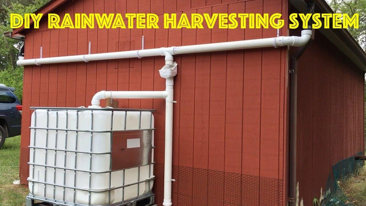 4d3cc59e306 DIY Rainwater Harvesting System