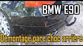 Comment démonter le pare-choc arrière sur BMW E90