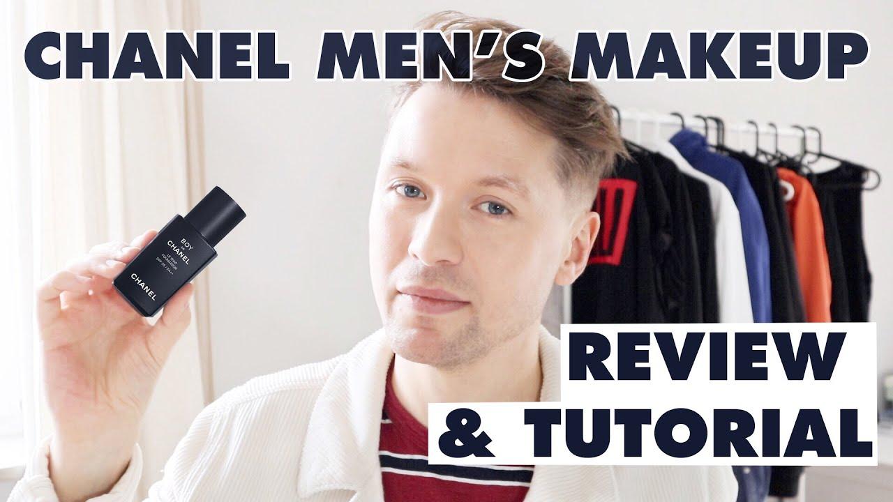 3d1c6e356223 CHANEL for men??? BOY DE CHANEL FOUNDATION / MEN'S MAKEUP TUTORIAL ...