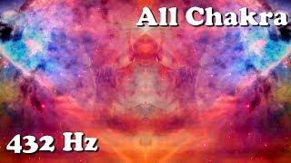 """Nirvana """"Spaced Out Buddha"""" 432 Hz All Chakra Meditation (Healing/Tuning/Balancing)"""