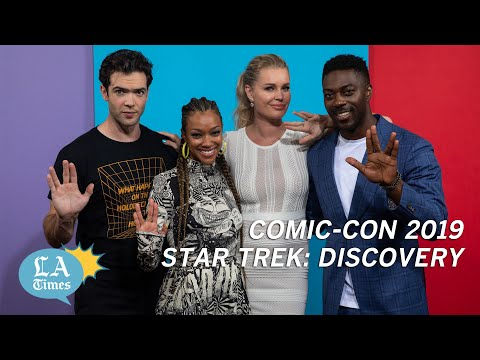 Sonequa Martin-Green on going beyond canon on Discovery