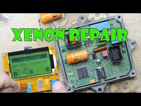 tdl xenon ballast repair youtube Emergency Ballast Wiring Diagram