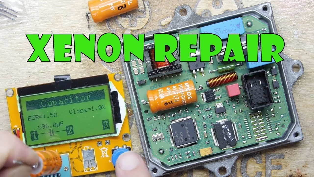hight resolution of tdl xenon ballast repair