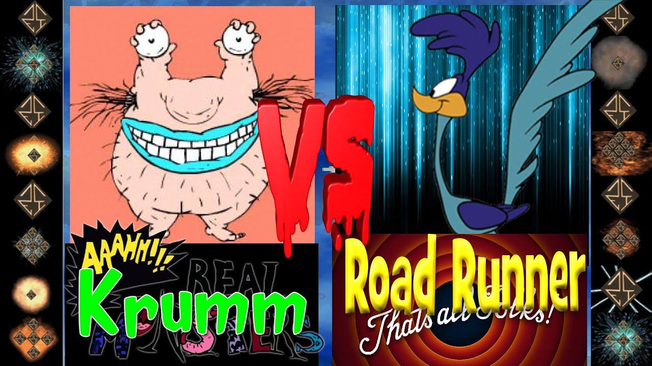 Download Krumm (Aaahh!!! Real Monsters) vs Road Runner (Looney Tunes) - Ultimate Mugen Fight 2016