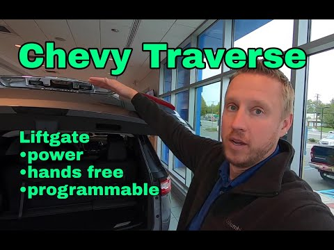 Chevrolet Traverse Hands Free Liftgate Youtube
