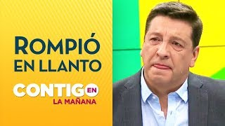 ¡DESGARRADOR! JC Rodríguez se quebró por testimonio de mujer - Contigo en La Mañana