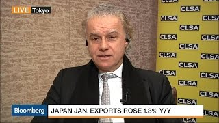 CLSA's Wood Says Japan's Inflation Target Should Be 1%