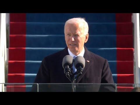 'Democracy has prevailed': President Biden's first speech