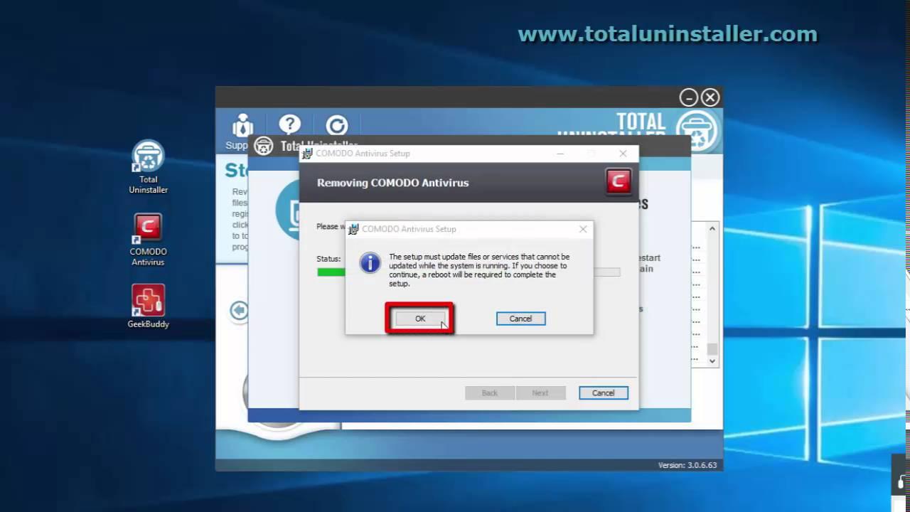 how to remove comodo antivirus mac