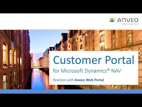 Anveo Web Portal: Customer Portal for Microsoft Dynamics NAV