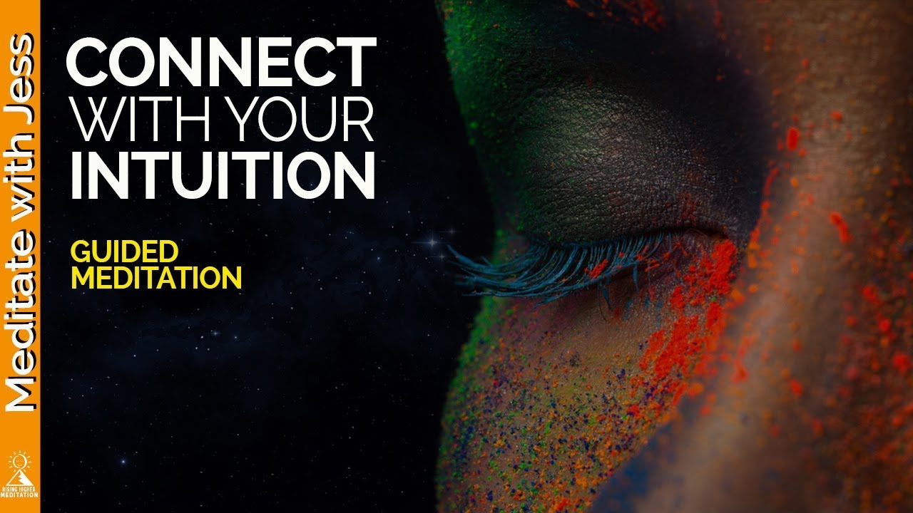 Connect With Your Divine Aspect of Intuition. Guided Meditation to Initiate Receiving