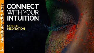 Connect With Your Divine Aspect of Intuition.  Guided Meditation to Initiate Receiving.