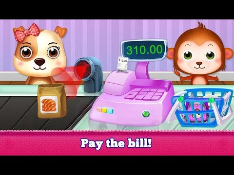 Shopping Mall Supermarket Fun, Toddlers, Education Games, Android Gameplay Video