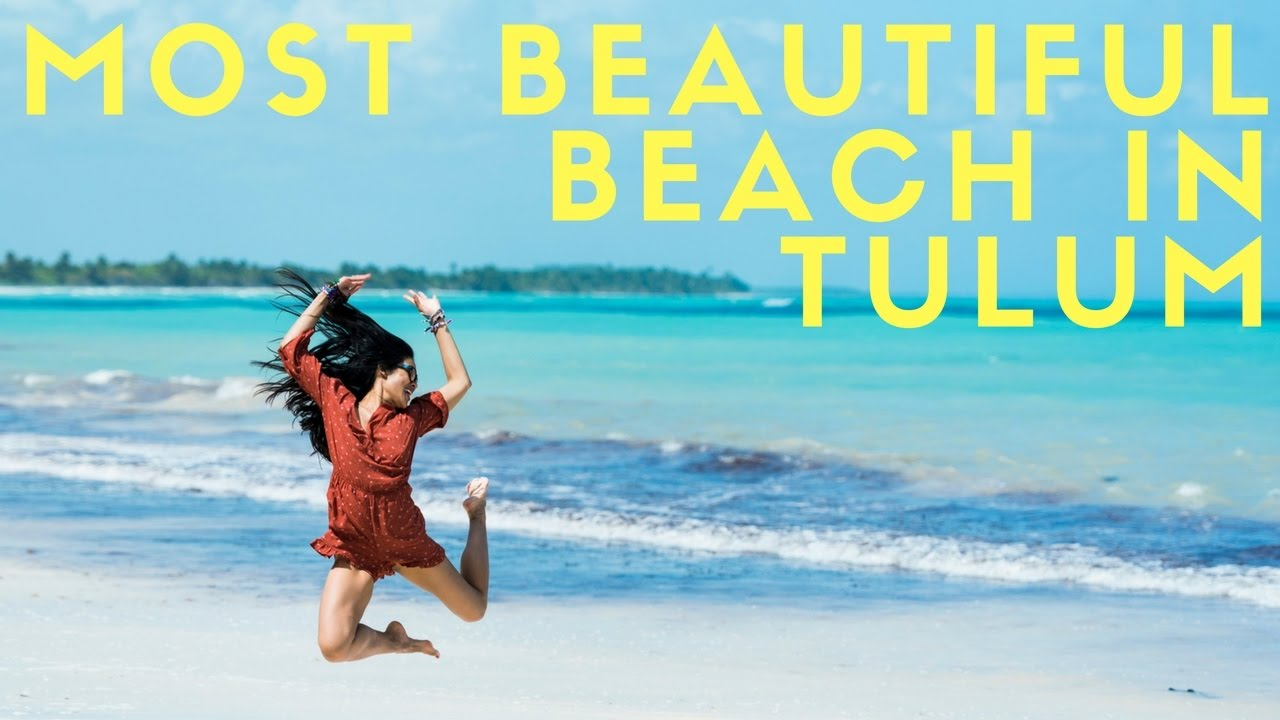 Most Beautiful Secret Beach In Tulum Mexico