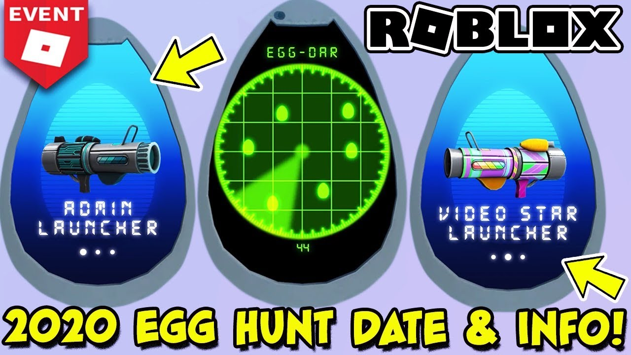 Egg Hunt 2020 Release Date Information Leaks Roblox Youtube
